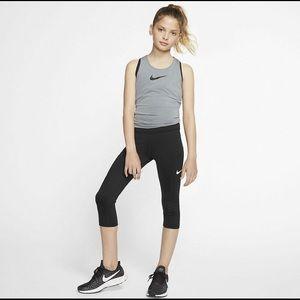 Girls Nike Trophy Capri Trainer Tights